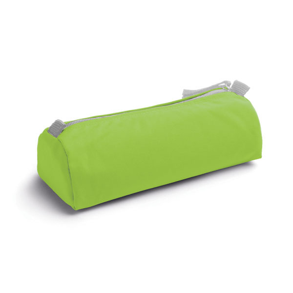 600D polyester pencil case - Light Green mk-157 lgr