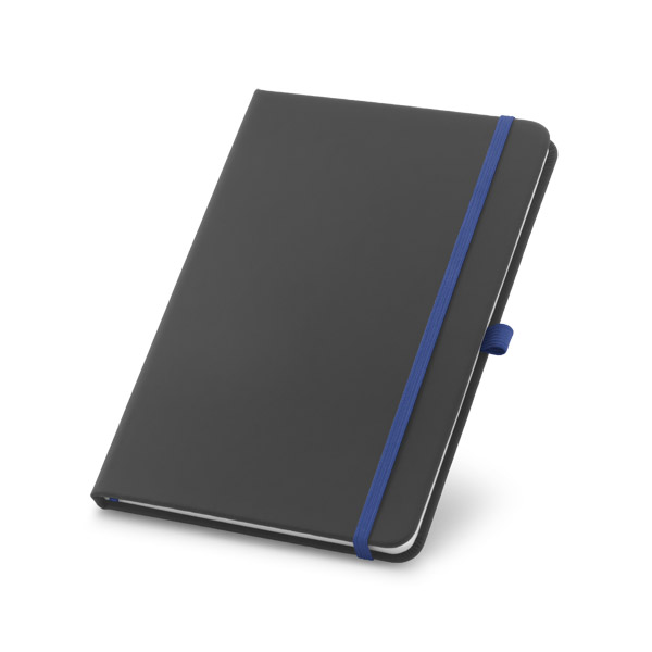 A5 hard cover note pad - Royal Blue mk-158 az