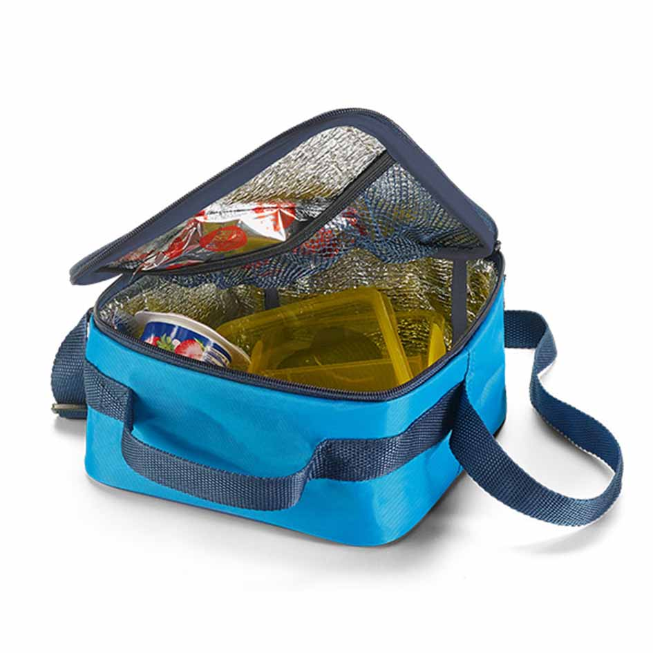 420D polyester cooler bag - Light blue mk-171 lbl