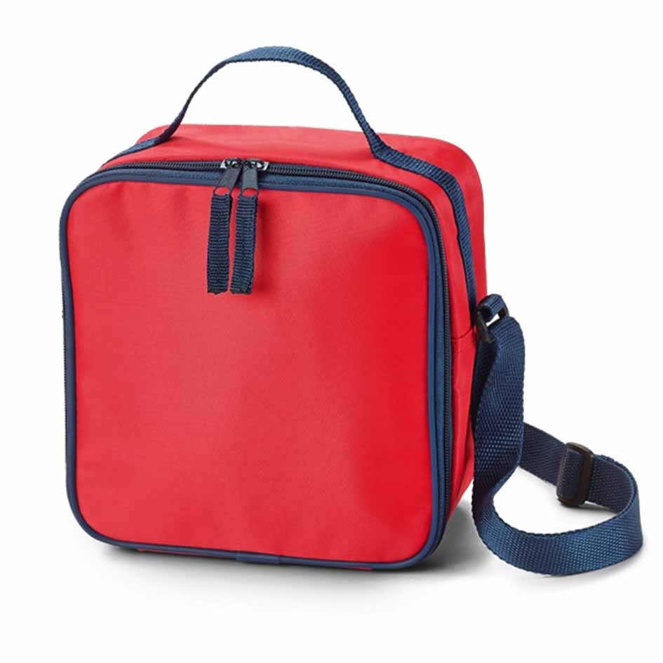 420D polyester cooler bag - Red mk-171 r