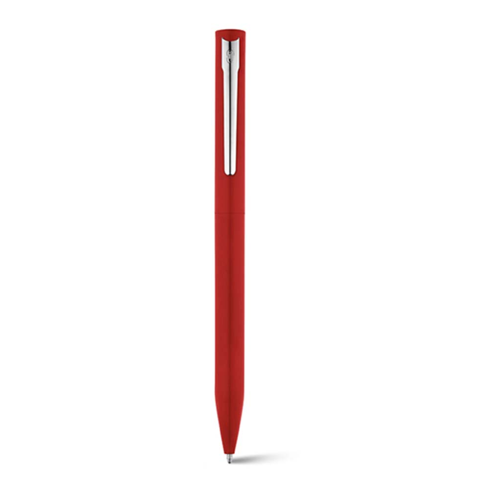 Aluminium ballpoint pen with twist mechanism - Red mk-1826 r