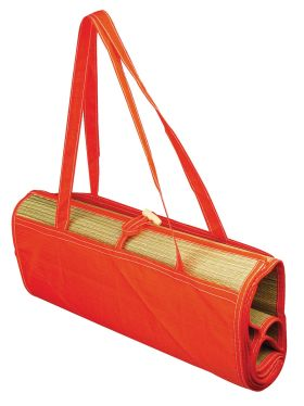 Foldable beach mat red mm-45r