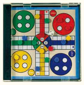 'ludo' magnetic travel game ns-061