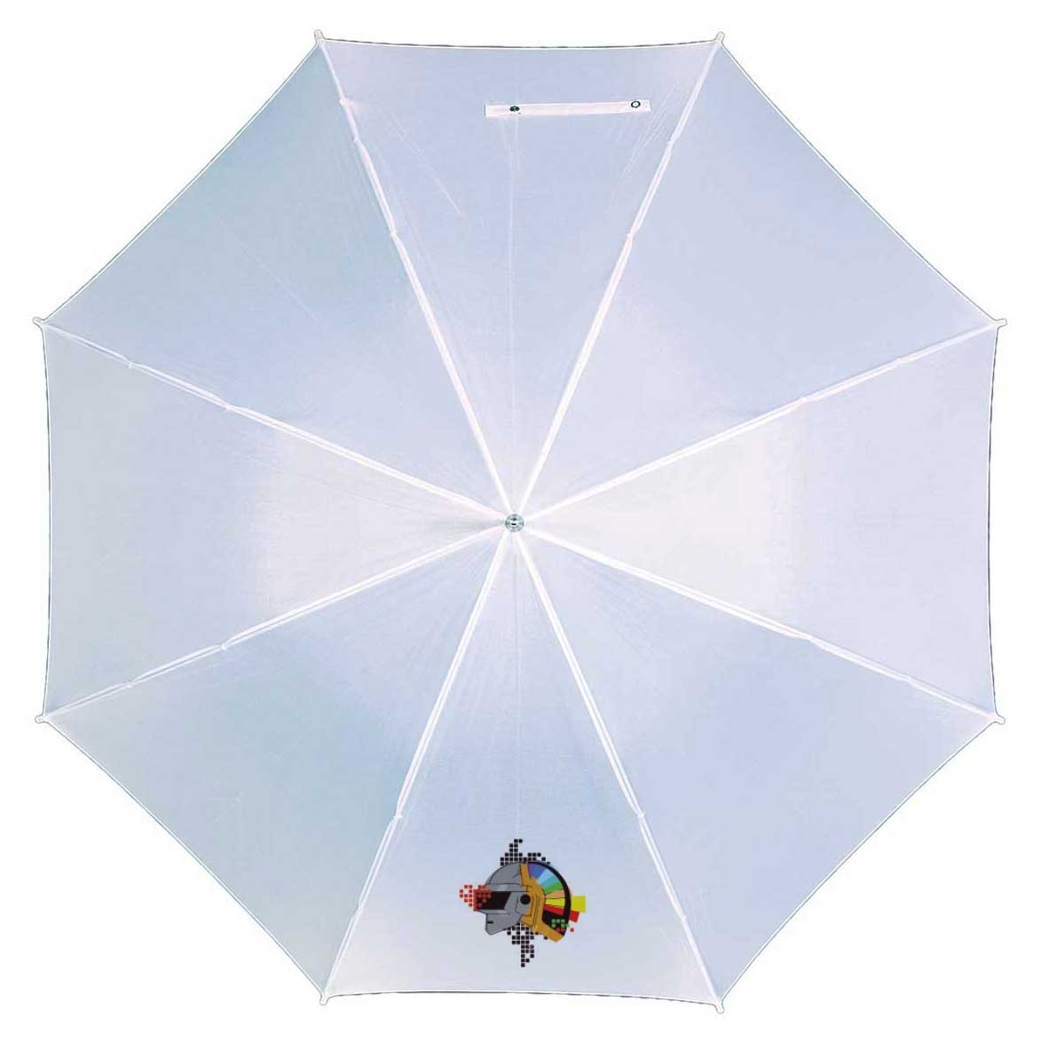 Automatic stick umbrella - White ns-195 w subl