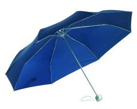 Aluminium pocket umbrella blue ns-637bl