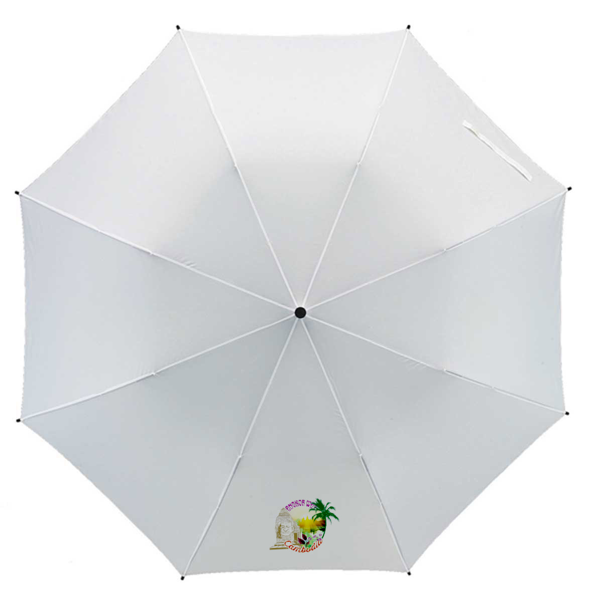 Manual pocket umbrella - White ns-638 w subl
