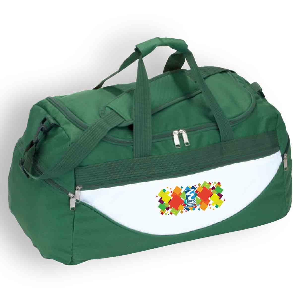 """Champ"" travel bag - Green ns-702 g subl"