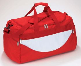 'Champ' travel bag - red ns-702 r