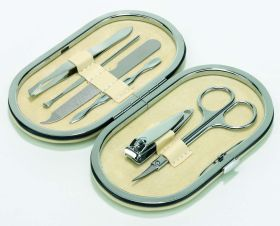 Elegant manicure set - Beige ns-716be