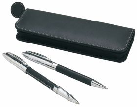 'Vici' executive pen and roller set - black ns-825bk
