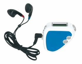 FM radio with pedometer - Blue ns-833 bl
