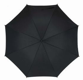 Automatic wooden stick umbrella - Black ns-927 bk