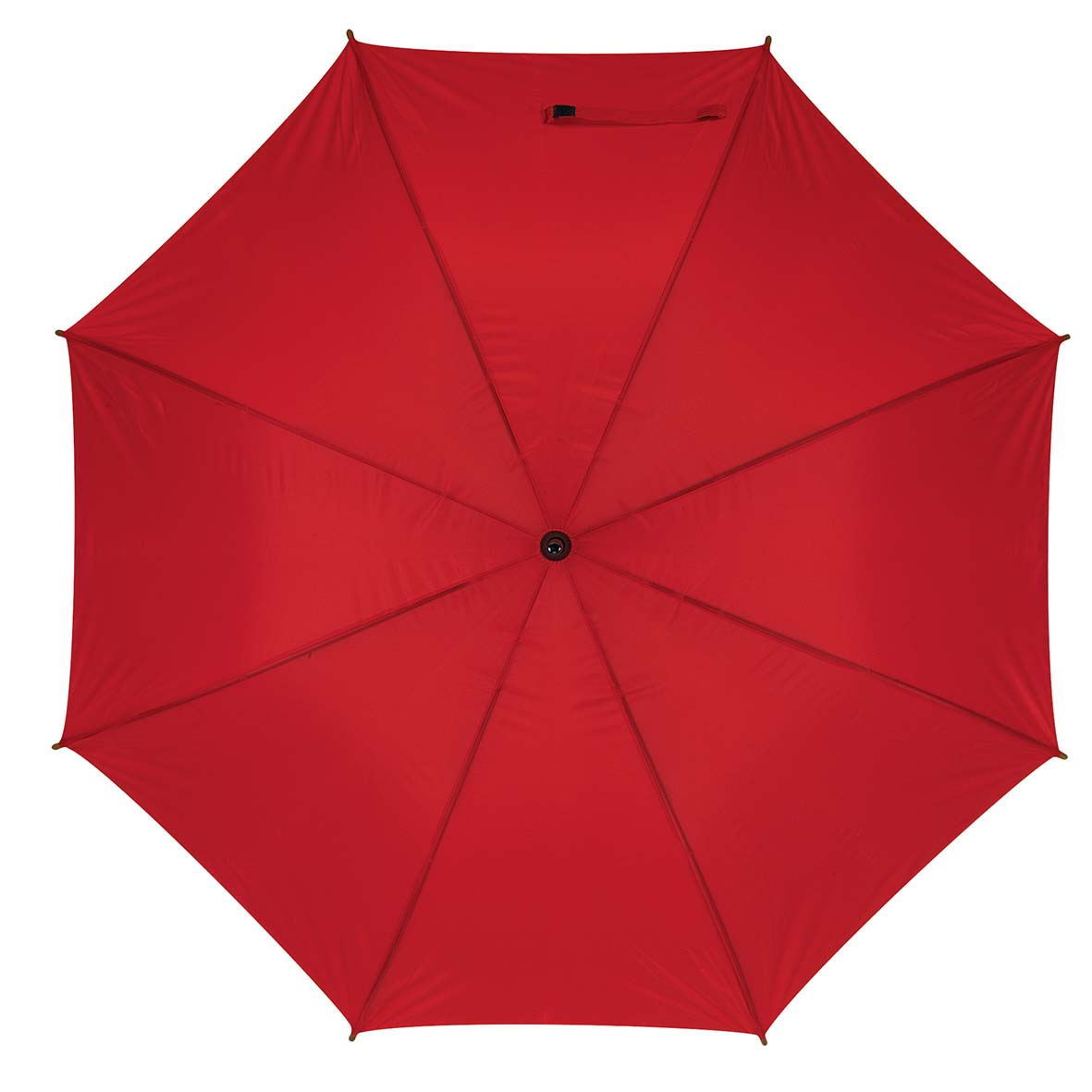 Automatic wooden stick umbrella - Red ns-927 r