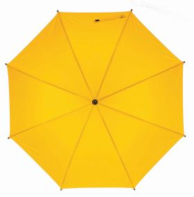 Automatic wooden stick umbrella - Yellow ns-927 y