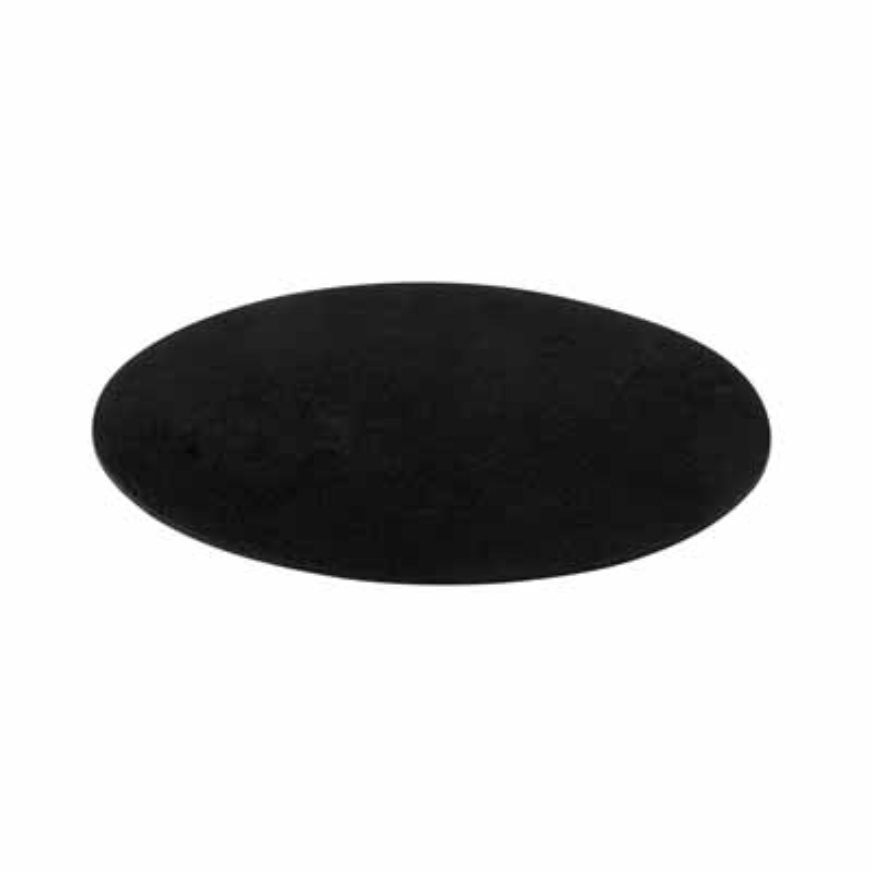Round design mousepad in soft polyester pf-1912502