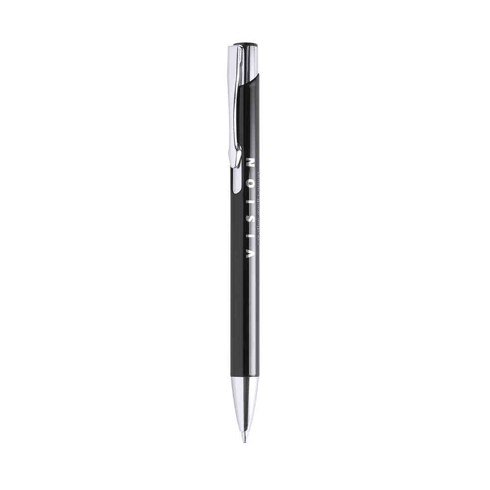 Bold aluminum ball pen with push-up mechanism pf-2054802