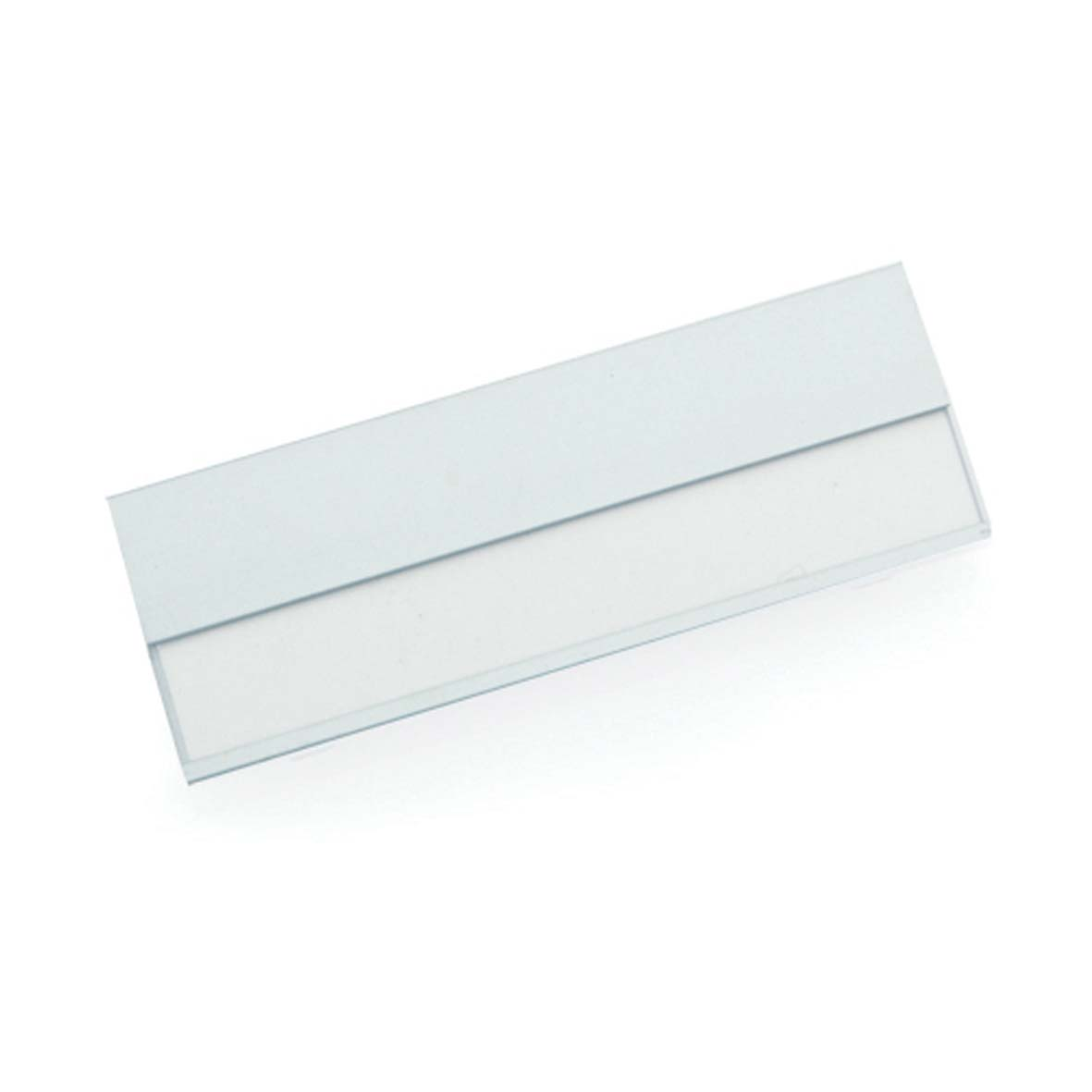 Aluminium name badge - White pf-372609