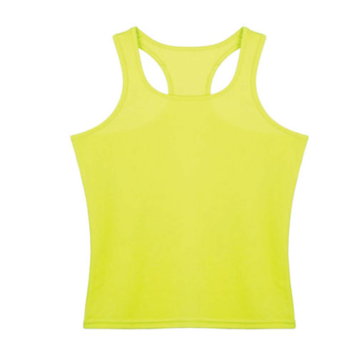 Gym t-shirt in fluorescent colours - Yellow fluorescent pf-473105f