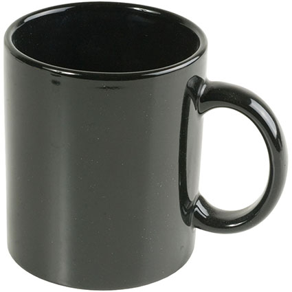 Ceramic mug 330 ml - Black sip-00003s02