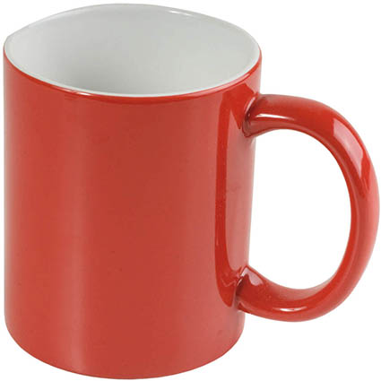 Ceramic mug 330 ml - Red sip-00003s31