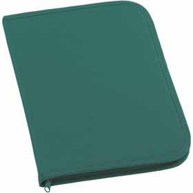 600D polyester conference folder - Green sip-0099904
