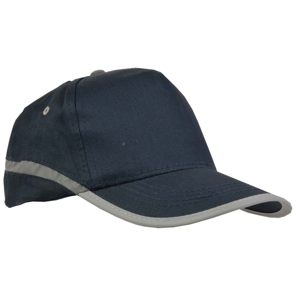 5 panel cotton capn - Blue sip-0404605