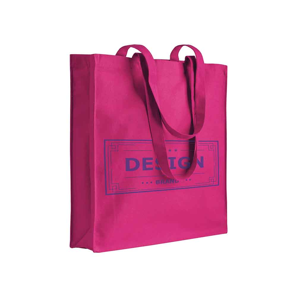 Cotton shopping bag - Deep pink sip-0712527