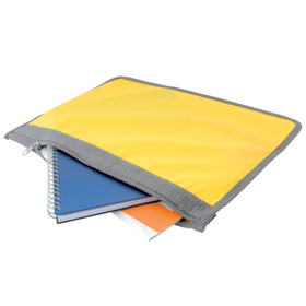 Conference document wallet - Yellow sip-0912606