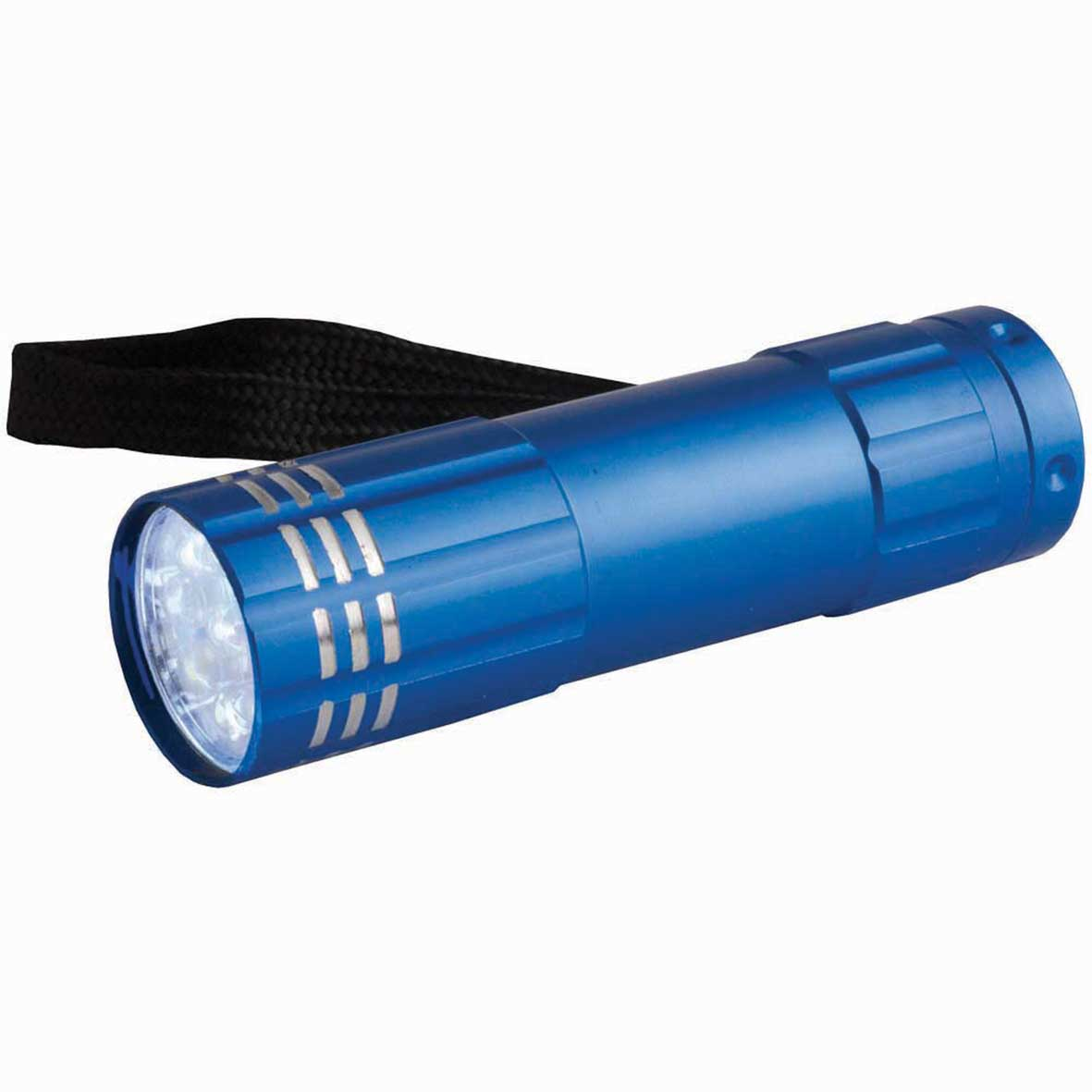 Aluminium torch with 9 LED lights - Royal Blue sip-0941210