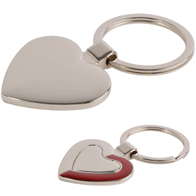 Metal key holder, heart. Supplied in gift box sip-1490203