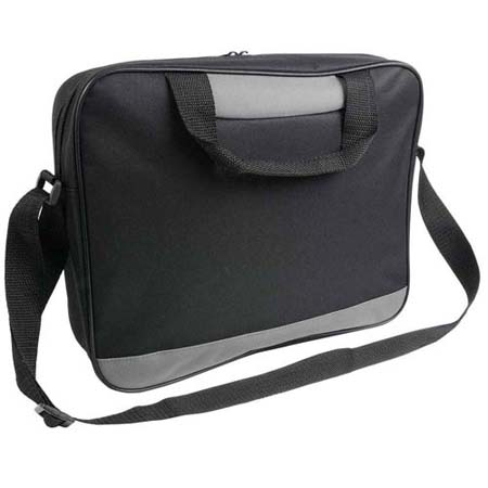 Document bag with zipper - Black sip-1514002