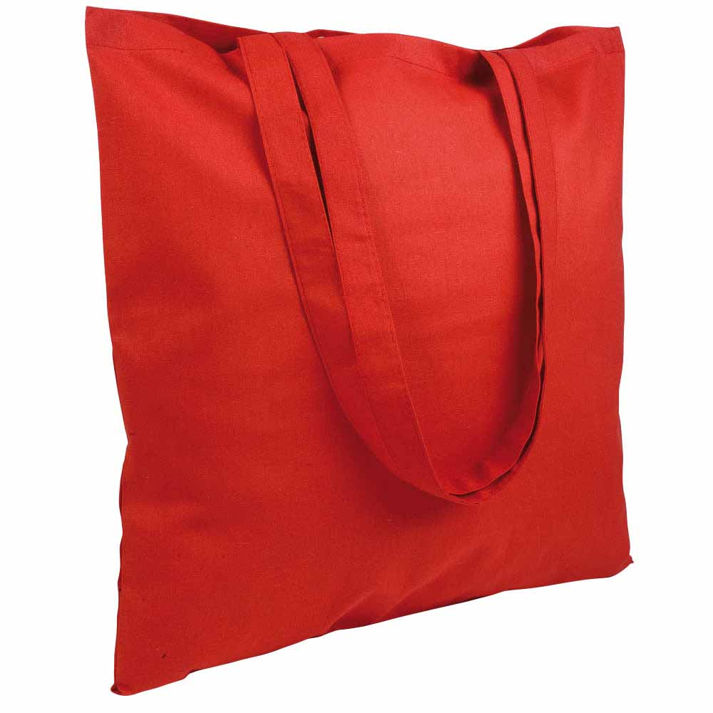 Cotton shopping bag - Red sip-1514503