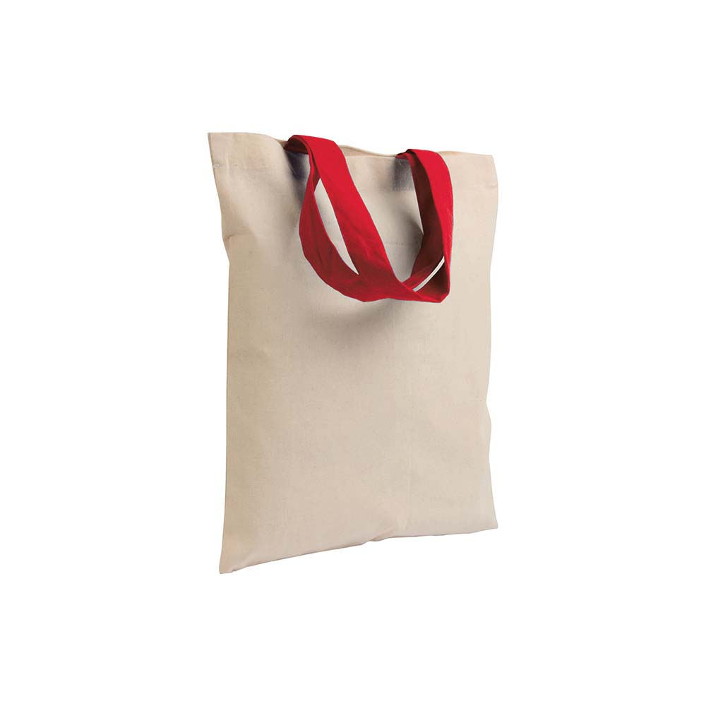 Ecru cotton mini shopping bag sip-1612303