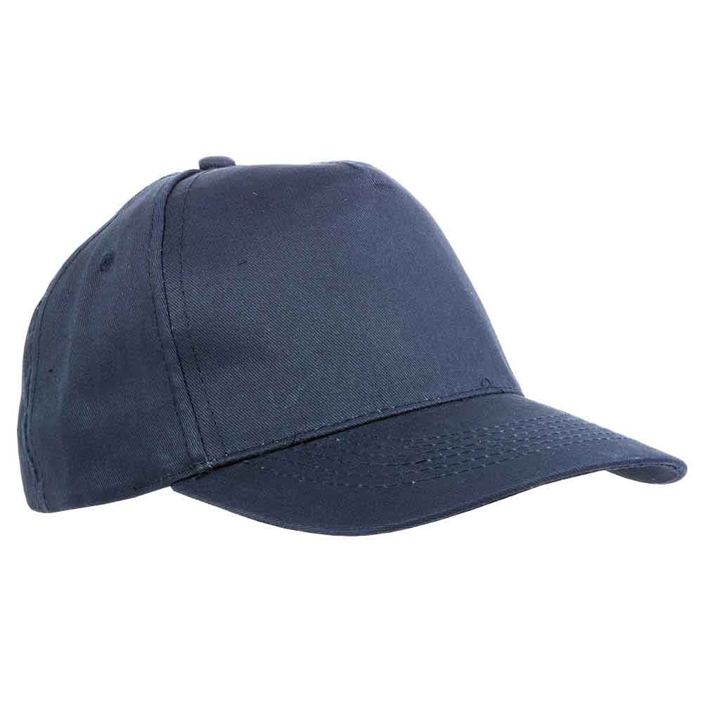 5 panel polyester cap - Blue sip-1630205