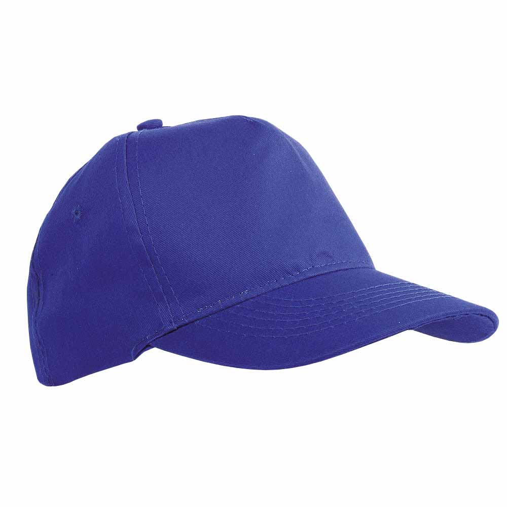 5 panel polyester cap - Royal Blue sip-1630210