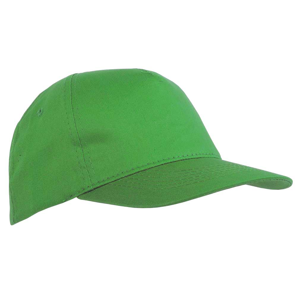 5 panel polyester cap - Apple Green sip-1630244
