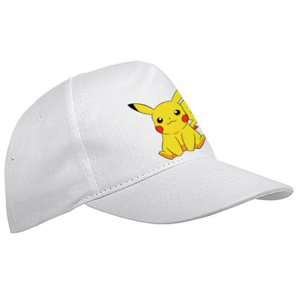 5 panel polyester kids cap - White sip-1630301 subl