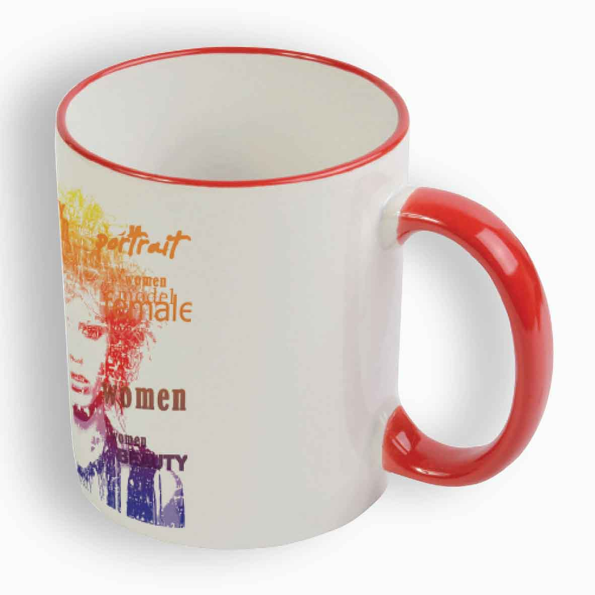 Sublimation mug 330 ml - Red sip-16433s03 subl