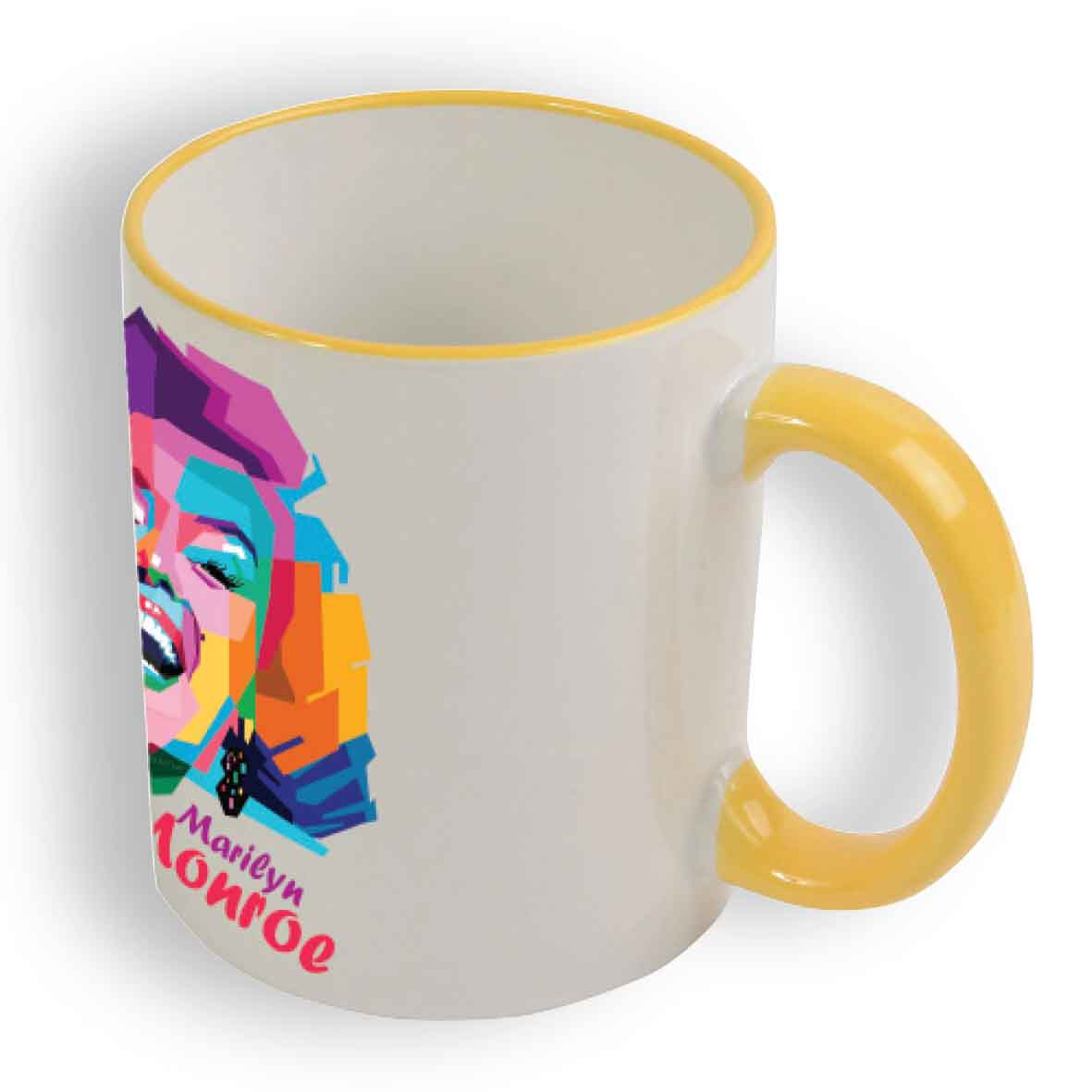 Sublimation mug 330 ml - Yellow sip-16433s06 subl
