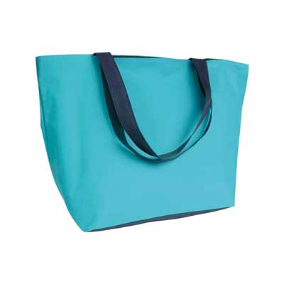 600D polyester two-tone beach bag sip-17136515