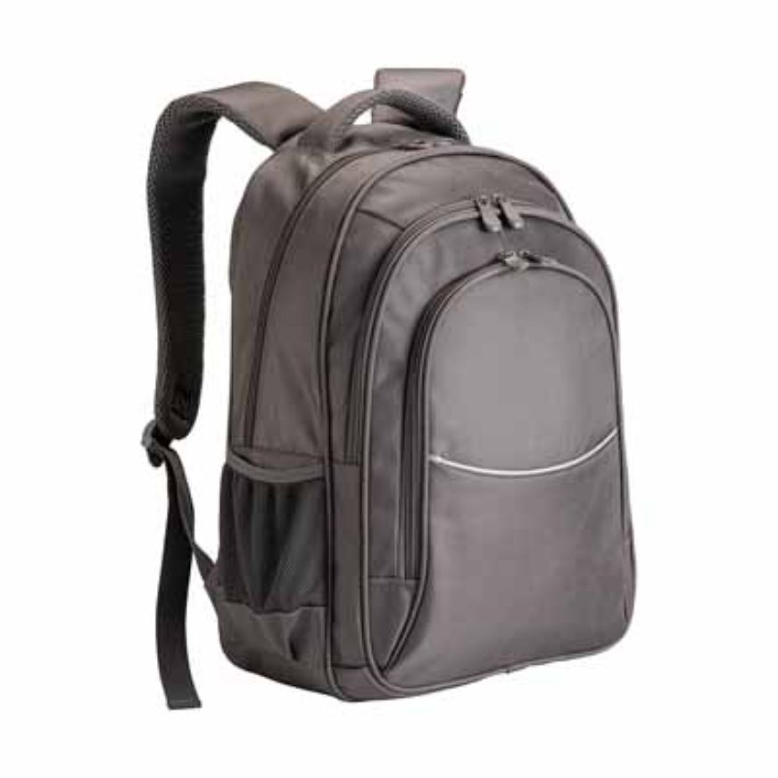 1680D polyester laptop backpack with three pockets sip-1713988