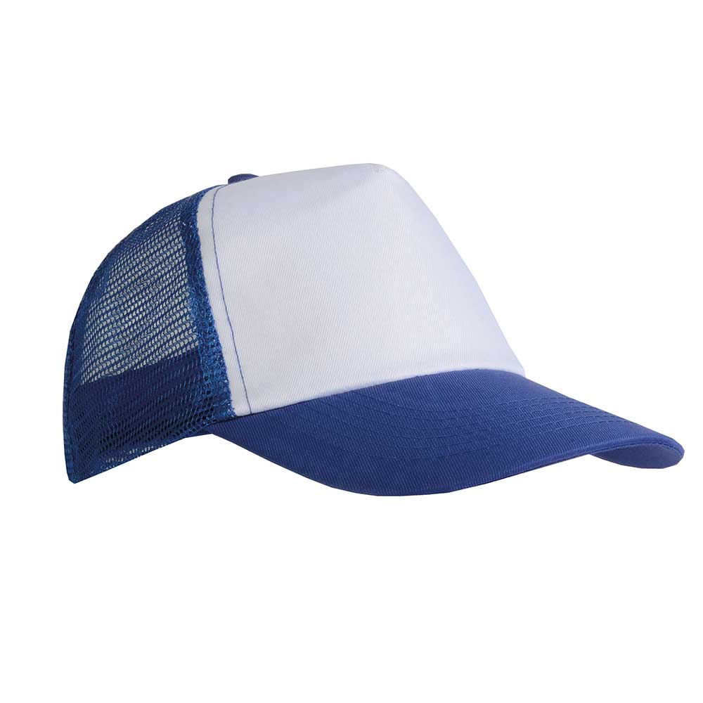 5 panel polyester cap - Royal Blue sip-1730110