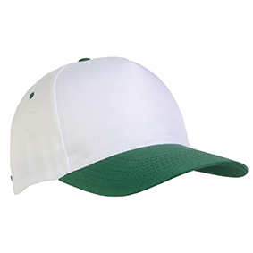 5 panel polyester cap -  Green sip-1730404