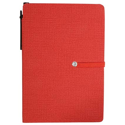 A6 Memo pad in PU - Red sip-1741703