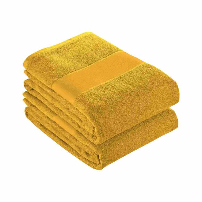 100% cotton (350 g/m2) terry towel - Yellow sip-1744406
