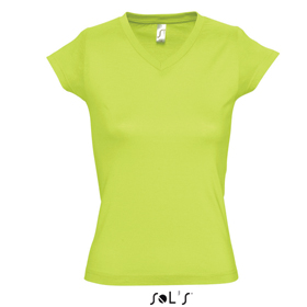 SOL'S MOON T-SHIRT - APPLE GREEN sl-103 apg