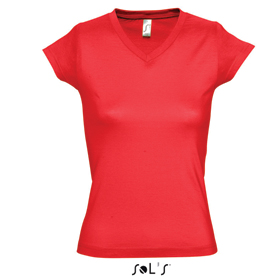 SOL'S MOON T-SHIRT - RED sl-103 r