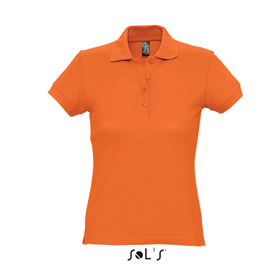 SOL'S PASSION POLO TYPE T-SHIRT - ORANGE sl-108 or
