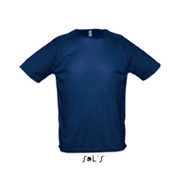 SOL's 'Sporty' t-shirt / french navy blue sl-130 fbl