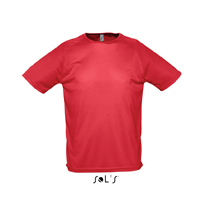 SOL's 'Sporty' t-shirt / red sl-130 r